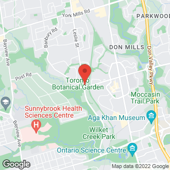 Map of Tim Hortons at 800 Lawrence Ave E, North York, ON M3C 1P4