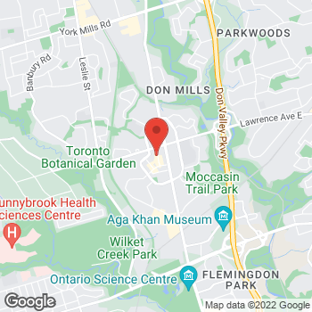 Map of GUESS at 28 Karl Fraser Road, Toronto, ON M3C0E8
