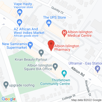 Alleviate Physiotherapy Static Google Map