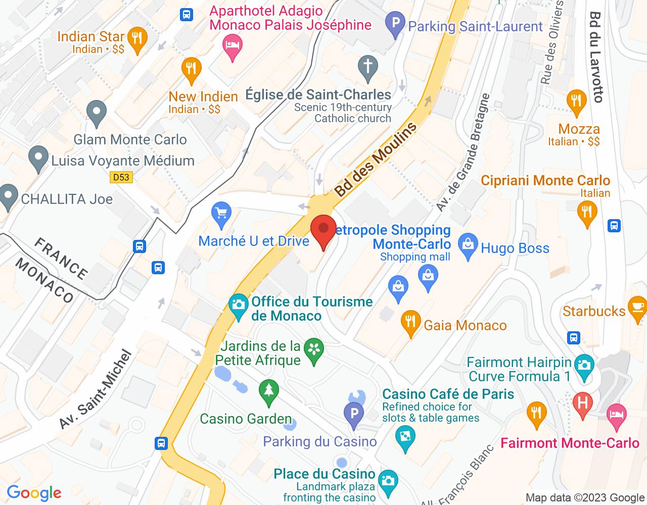 Plan Bollati Immobilier Monaco