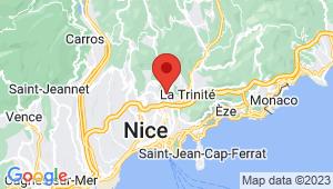 Carte de localisation du centre de contrôle technique Saint André de la roche