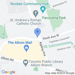 Cash Shop - Finch Ave Map