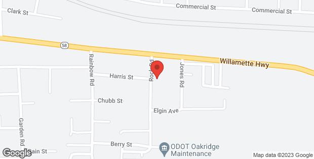 Highway 58 Oakridge OR 97463