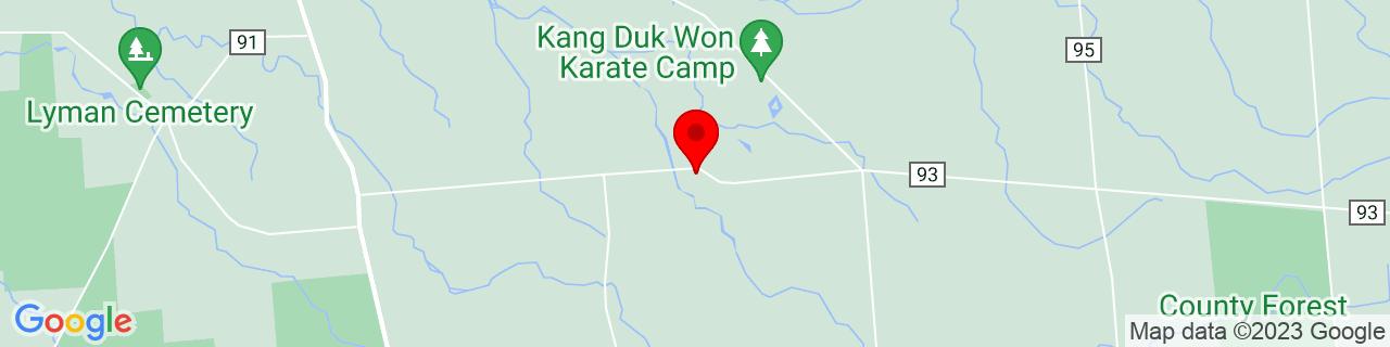 Google Map of 43.7456241, -75.9221406