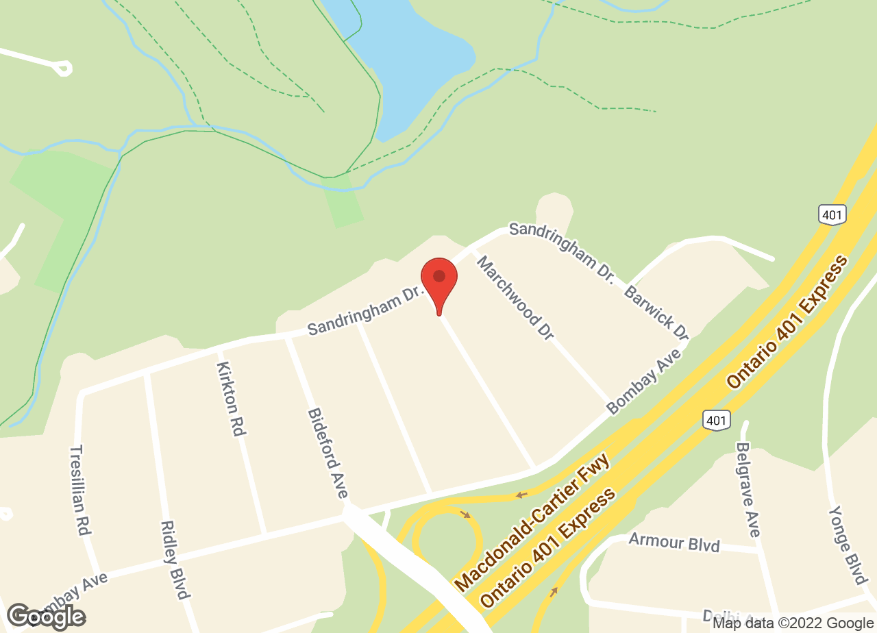 Google Map of Don Mills Animal Hospital