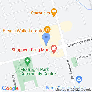 Daisy Mart - Scarborough Map