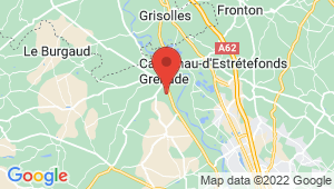 Carte de localisation du centre de contrôle technique GRENADE