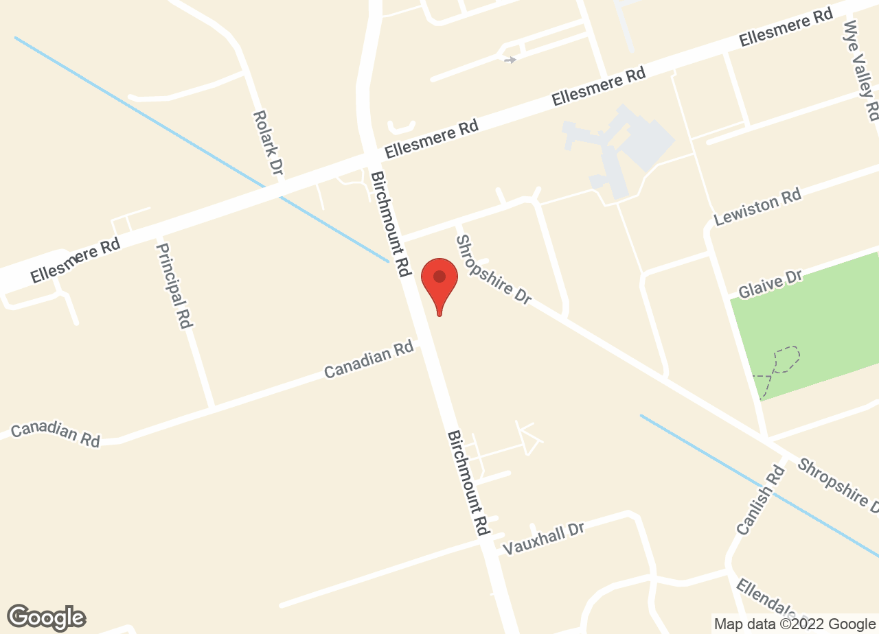 Google Map of Birchmount Animal Hospital