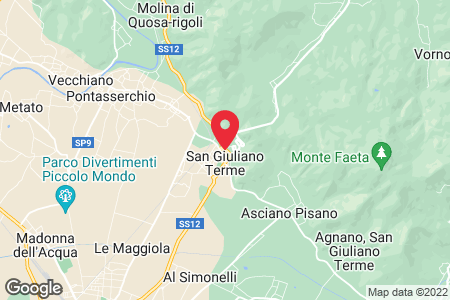 San Giuliano Terme map