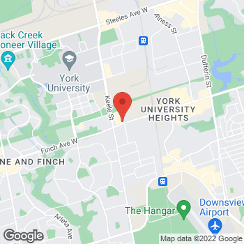 Map of Tim Hortons at 1280 Finch Ave W, North York, ON M3J 3K6