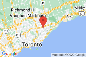 Map of Greater Toronto Area