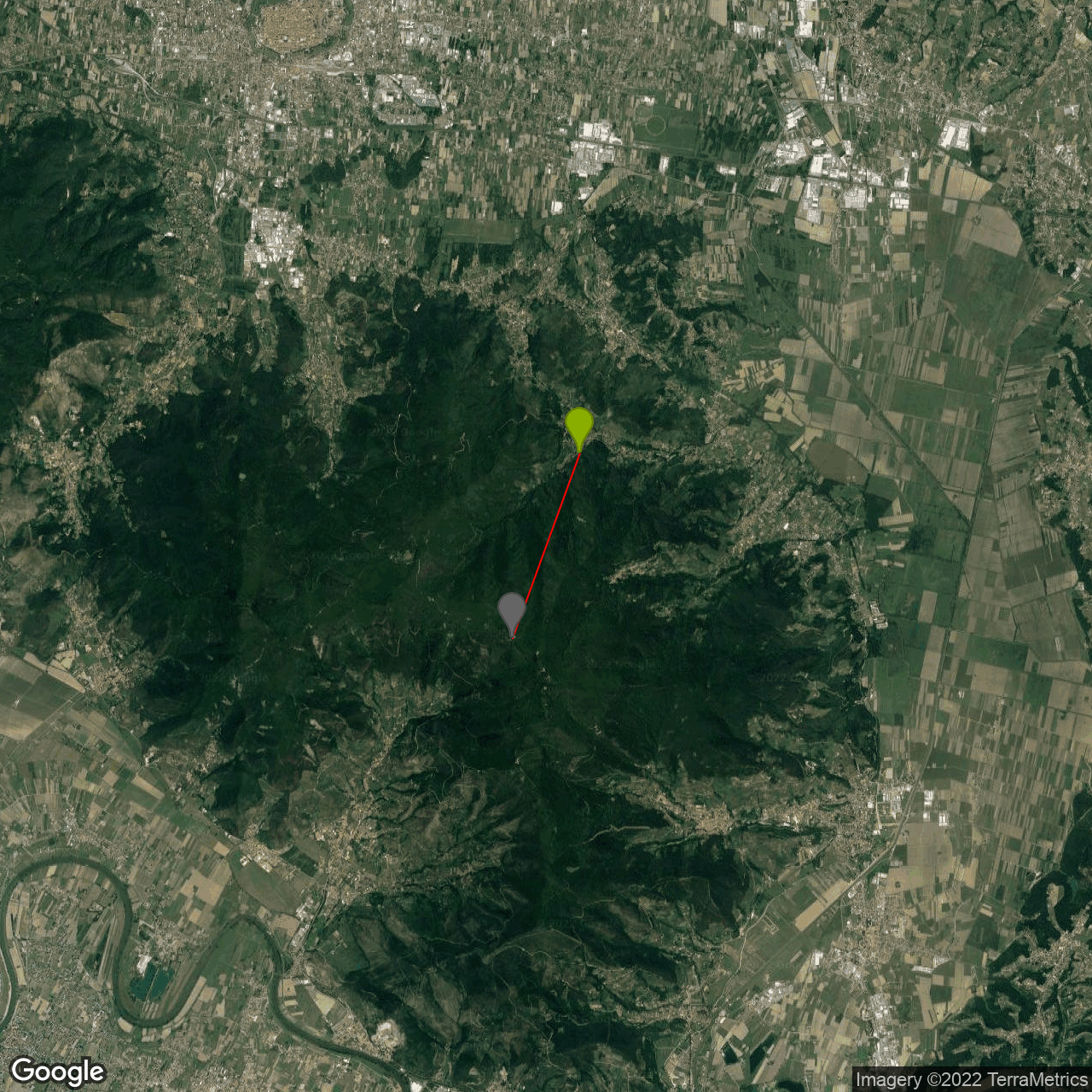 Monte Serra (Pieve di Compito) Bike Climb - PJAMM Cycling