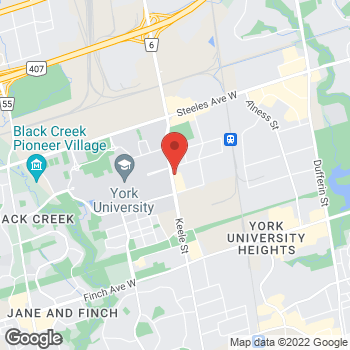 Map of Tim Hortons at 4211 Keele St, North York, ON M3J 1N9