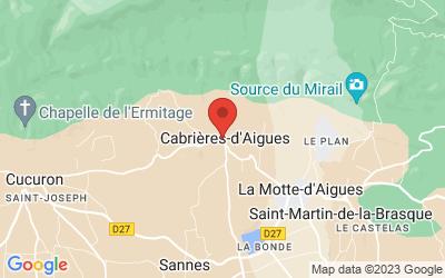 Rue du Temple, 84240 Cabrières-d'Aigues, France