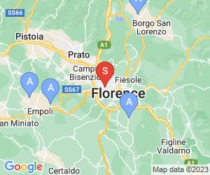 Karte für Parco di Firenze Golf Club