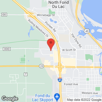 Map of Sprint at 506 N Rolling Meadows Dr, Fond Du Lac, WI 54937