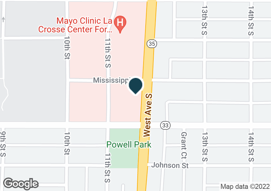 Google Map of900 WEST AVE S