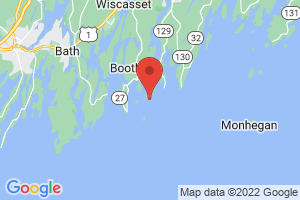 Map of Boothbay Harbor Area