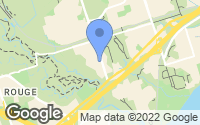 Map of Pickering, ON