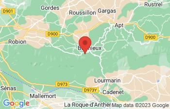 Map of Bonnieux