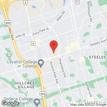 Map of Tim Hortons at 3500 Steeles Ave East, Markham, ON L3R 2Z1