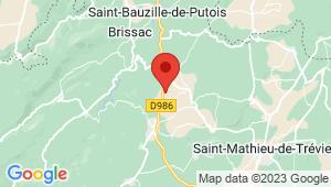 Carte de localisation du centre de contrôle technique SAINT MARTIN DE LONDRES