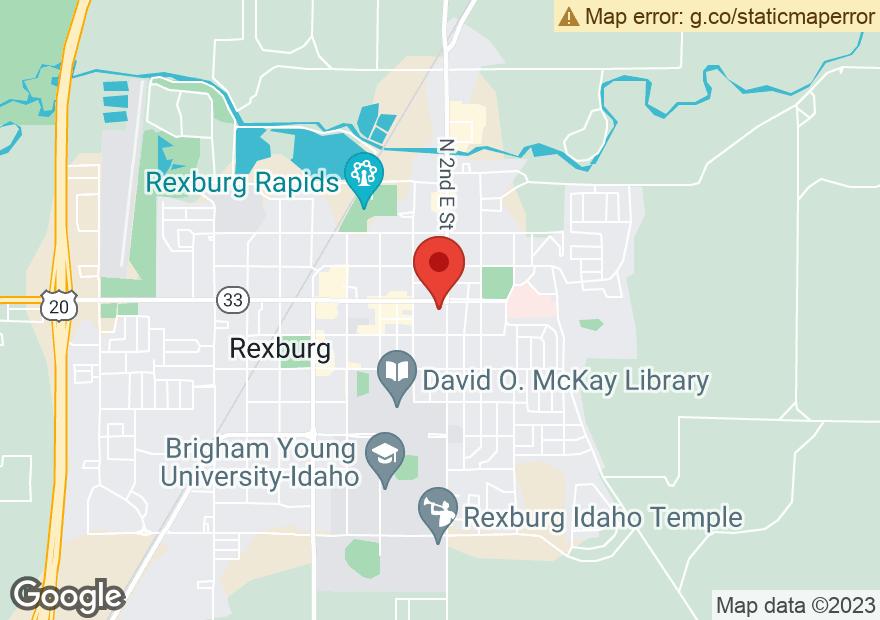 Google Map of 164 E MAIN ST