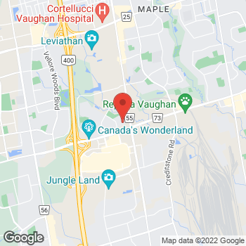 Map of Allstate Insurance: Pina Di Maio at 3120 Rutherford rue, Vaughan, ON L4K 0B1
