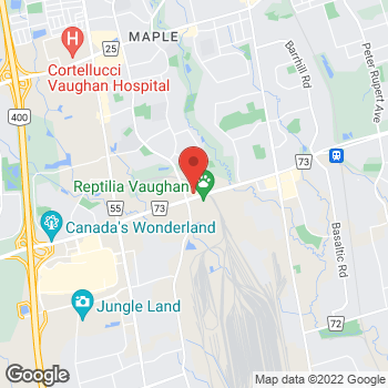 Map of Denny's Vaughan at 2610 Rutherford Rd, Vaughan, ON L4K0H1