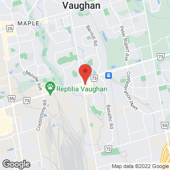 Map of Tim Hortons at 9151 Keele St, Concord, ON L4K 5B4
