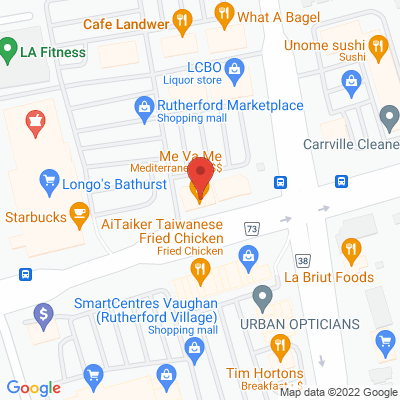 Rutherford Physio & Sports Injury Clinic Static Google Map