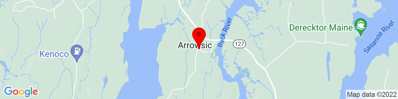 Google Map of 43.8498037, -69.7781013