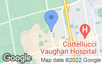 Map of Vaughan, ON