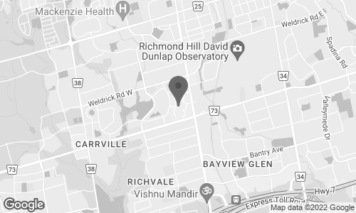 Carte de 9350 Yonge Street} à Richmond Hill