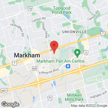 Map of Bed Bath & Beyond at 3995 Highway 7 East, Markham, ON L3R5M6