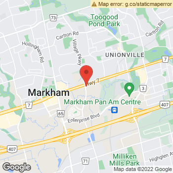 Map of Dr. Carmen Tran at 3985 Highway 7 East, Markham, ON L3R 2A2