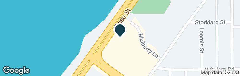 Google Map of2626 ROSE ST