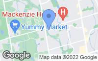 Map of Richmond Hill, ON
