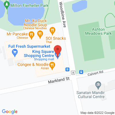 King Square Physiotherapy Static Google Map
