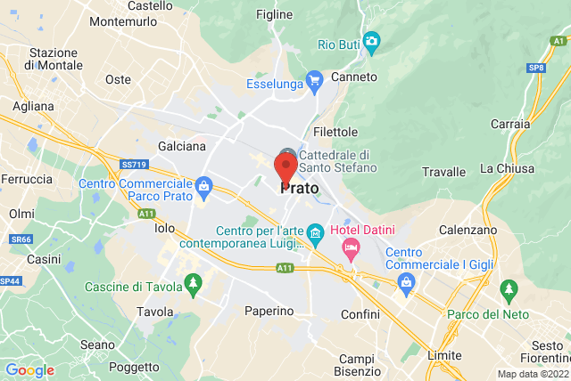 Pilates in Tuscany Map