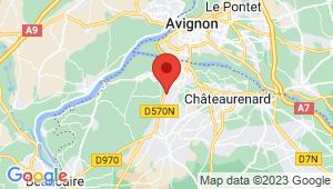 Carte de localisation du centre de contrôle technique GRAVESON