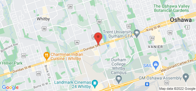 Sobeys Whitby Map