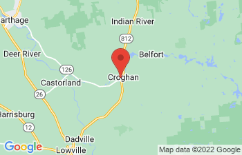 Map of Croghan