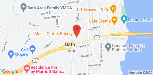 Directions to Mae's Cafe & Bakery