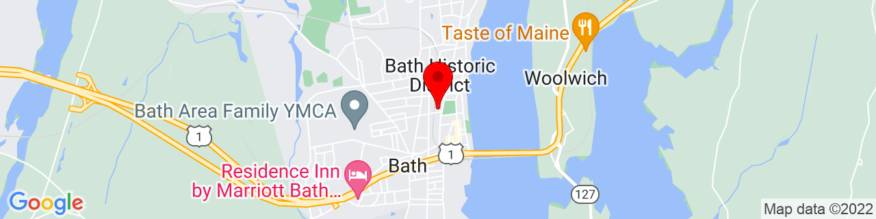 Google Map of 43.915708, -69.816779