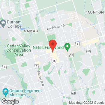 Map of Burger King at 275 Tauton Rd, Oshawa, ON L1G 3V2