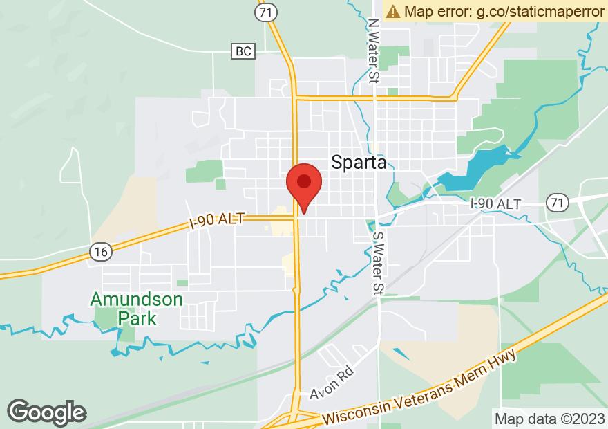 Google Map of 710 W WISCONSIN ST