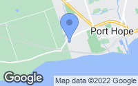Map of Port Hope, ON