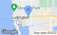 Map of Ludington, MI