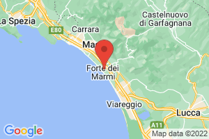 Map of Forte Dei Marmi
